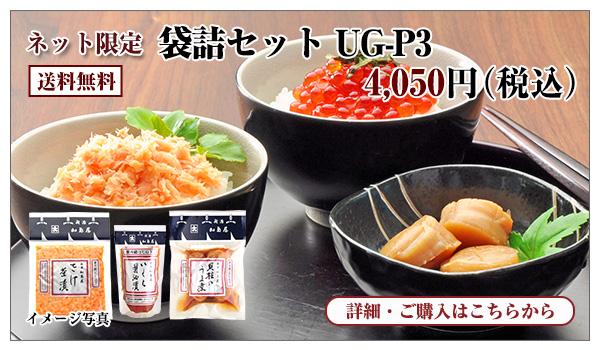 袋詰セット UG-P3 4,050円(税込) 送料無料