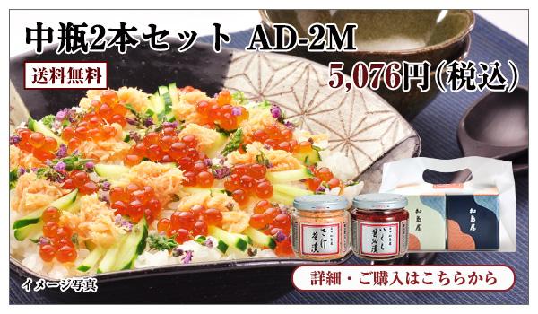 中瓶2本セット AD−2M 5,076円(税込)送料無料