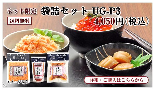 袋詰セット UG−P3 4,050円(税込) 送料無料